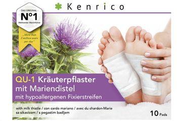 10 Kenrico Vitalpflaster, Kräuterpflaster mit Mariendistel