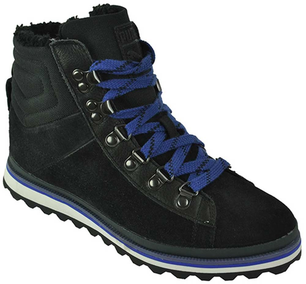 Puma City Snow Boot´s Womens Damen Leder Winterschuhe Schwarz – Bild 1
