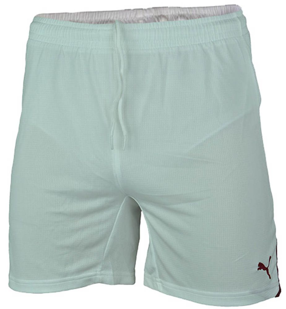 Puma Powercat 5.10 Shorts Junior RAPID Kinder Short Kurze Hose Weiß