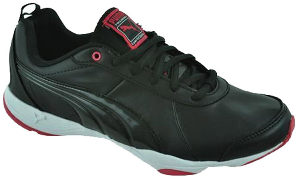 Puma Flextrainer SL Womens Training Fitness Damen Sneaker Schwarz