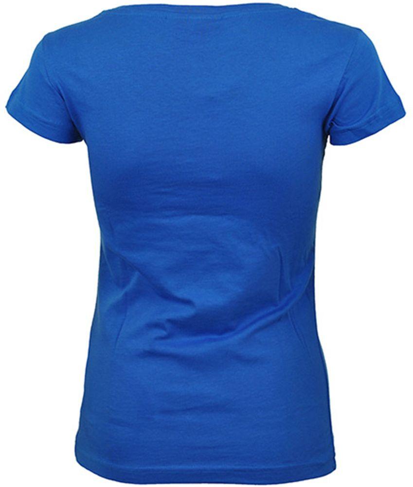 Adidas NEO Logo Shirt Womens Damen Freizeit T-Shirt Blau – Bild 2