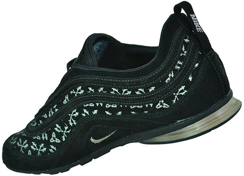 Sneaker Nike Womens Air Details Zu Damen Schuhe Schwarz Plata Leder BrCoWdxe