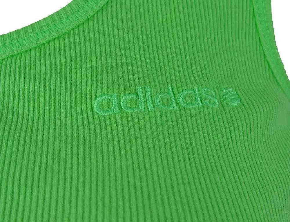 Adidas NEO B Tank Damen Freizeit Sport Tank Top Grün – Bild 2