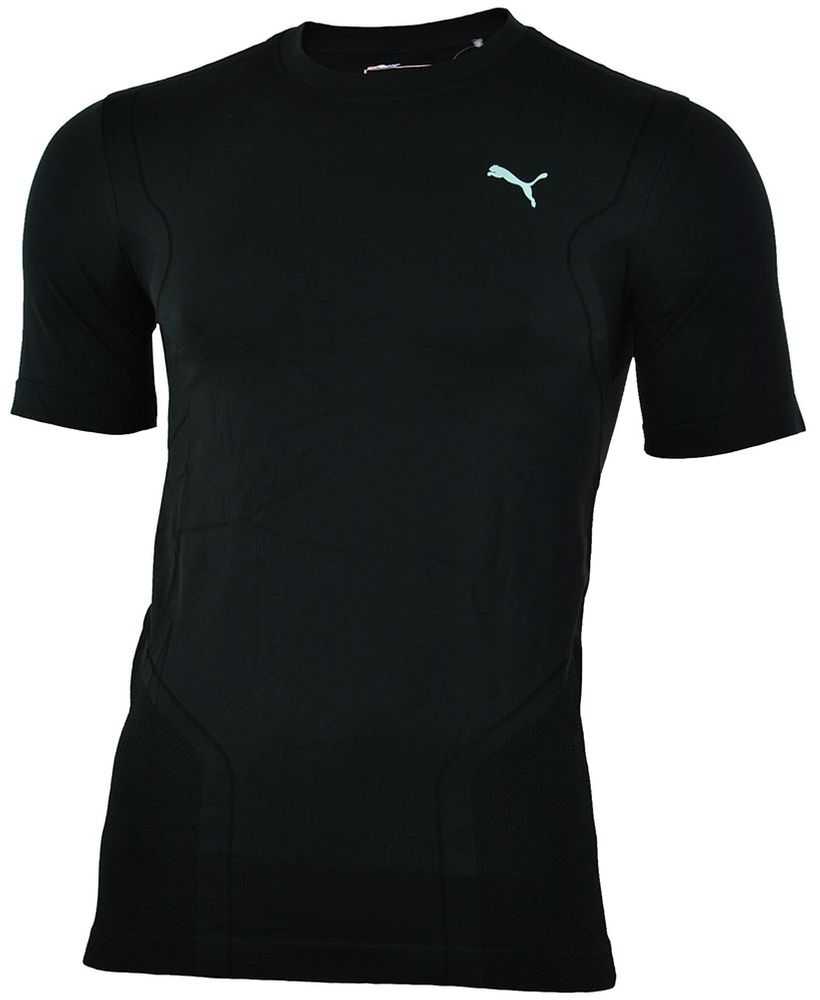 Puma PT Pure Tech smls S/S Tee Herren COOL CELL Sport SLIM FIT Shirt T-Shirt Schwarz