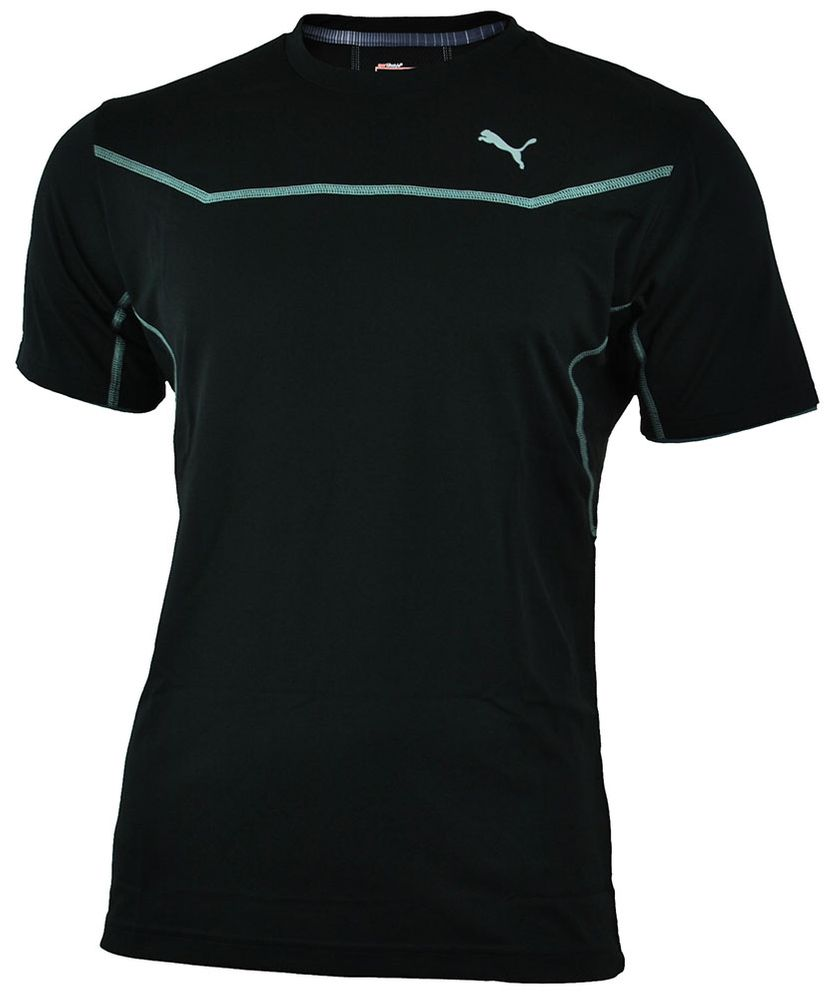 Puma PT Pure Core Train S/S Tee Herren COOL CELL Sport REGULAR FIT Shirt T-Shirt Schwarz – Bild 1