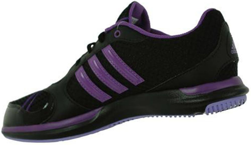Adidas Core 50 Womens Damen Fitness Freizeit Sport Sneaker Schwarz Gr. 36.5 – Bild 3