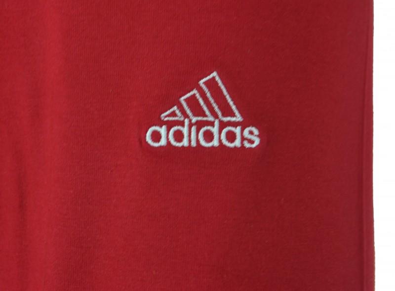 Adidas Basic 3/4 Tight Womens Damen Sport Stretch Hose Rot – Bild 2