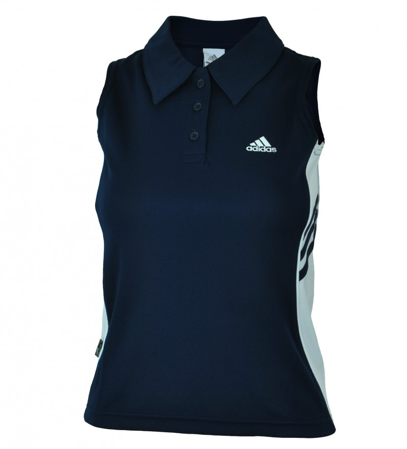 Adidas Polo Shirt Womens Damen ClimaLite Funktionsshirt Sport Fitness Shirt – Bild 6