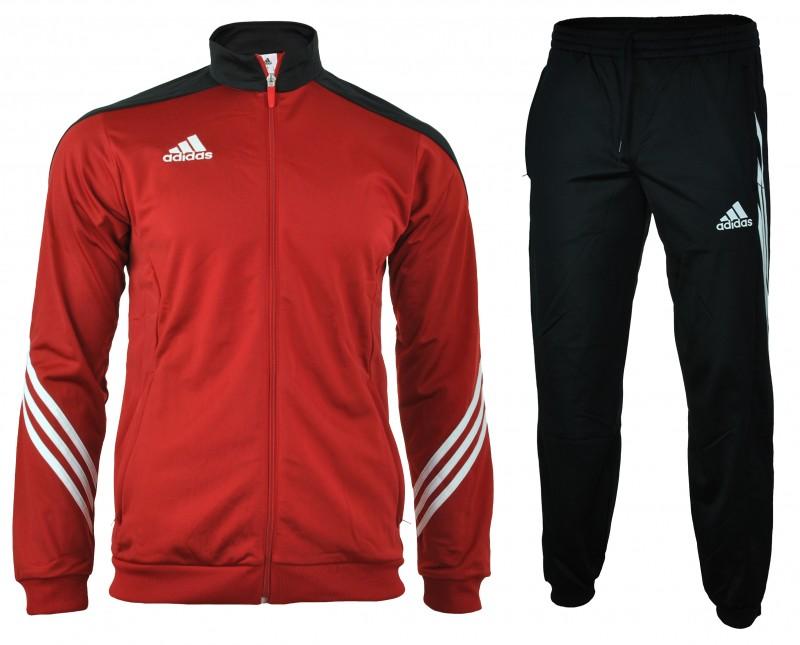 Adidas Sereno 14 Presentation Suit Suit mens men's tracksuit sport suit Red