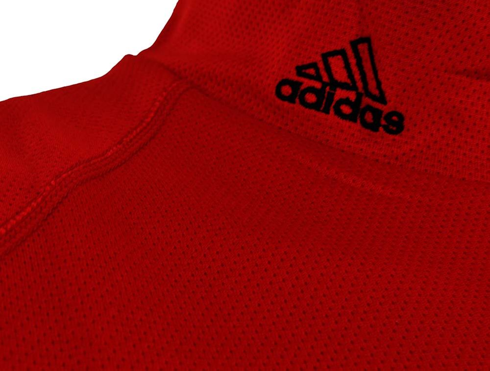 Adidas ClimaLite Shirt Mens Herren Training Fitness Running Shirt Rot – Bild 3
