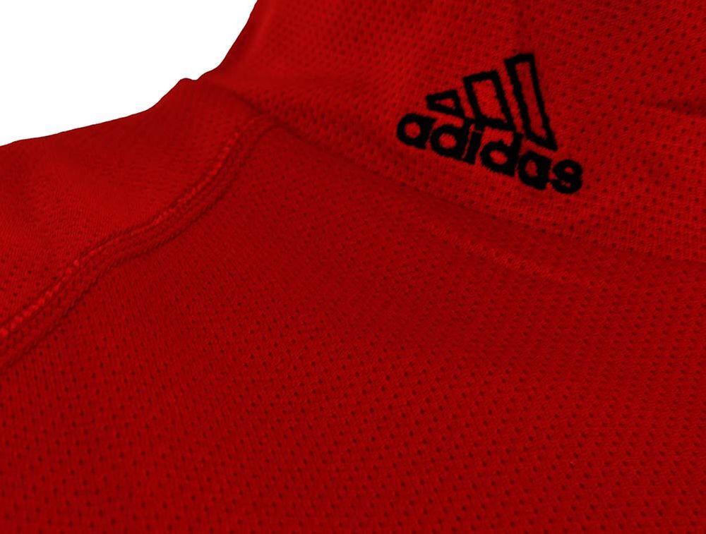 Adidas ClimaLite Shirt Mens Herren Training Fitness Running Shirt Rot – Bild 3