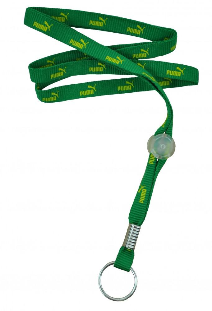Puma Lanyard Schlüsselband Schlüsselanhänger Halsband Grün