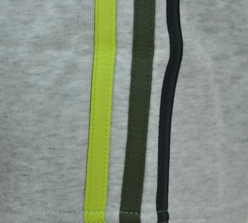 Adidas ESS 3S Sweat Pants Mens Herren ClimaLite Trainingshose Sporthose Grau – Bild 3