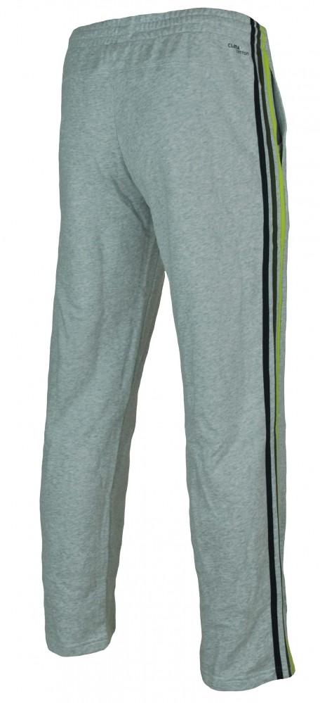 Adidas ESS 3S Sweat Pants Mens Herren ClimaLite Trainingshose Sporthose Grau – Bild 4