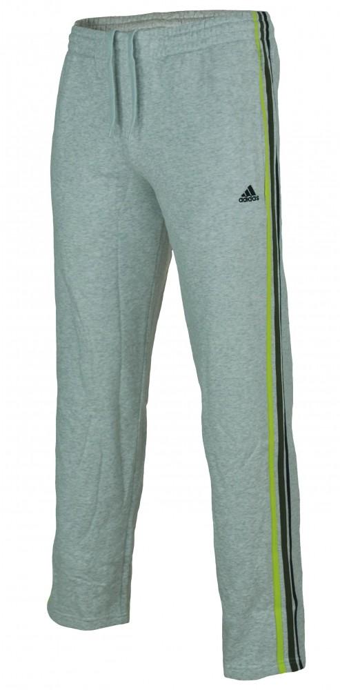 Adidas ESS 3S Sweat Pants Mens ClimaLite sweatpants sport pants gray