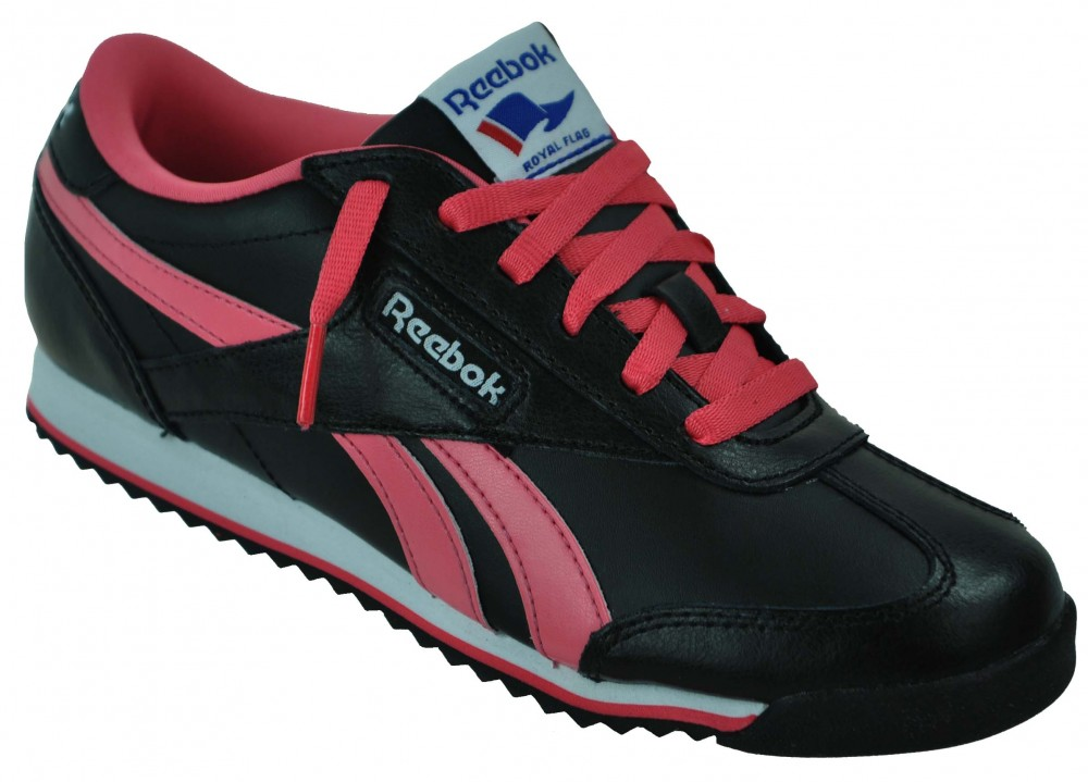 Reebok Royal CL Rayen Sneaker Womens Damen Classic Leder Schuhe Schwarz