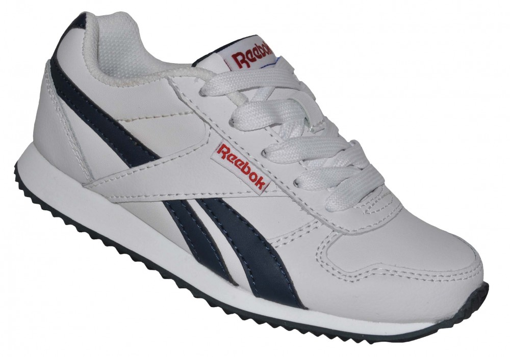 Reebok Royal Classic Jogger Kids Junior Sneaker Kinder Leder Schuhe Weiß