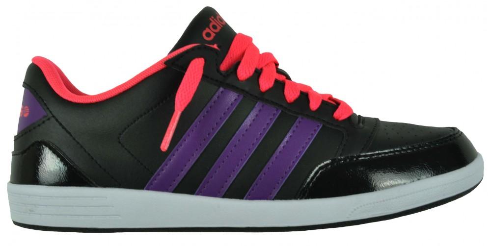 Adidas VL Neo Hoops Lo Womens Sneaker Damen Freizeitschuhe Schuhe Schwarz – Bild 6
