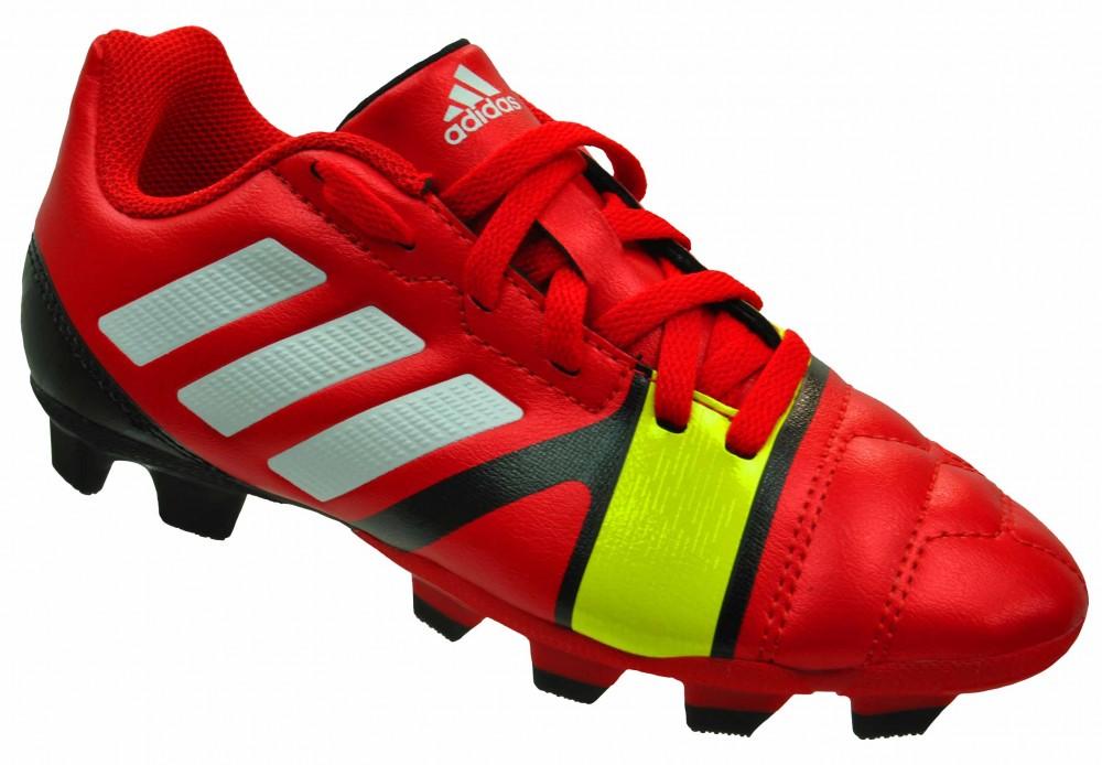 Adidas Nitrocharge 3.0 TRX FG Junior Kinder Nocken Fußballschuhe Rot