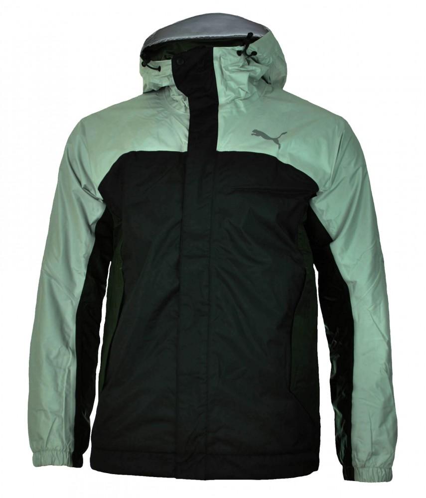 Puma City 2.0 Jacket Mens Storm Cell Herren Windjacke Regenjacke Jacke Schwarz – Bild 1