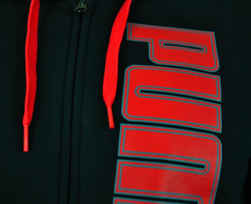 Puma ITS Hooded Jacket Mens Herren Kapuzenpullover Hoody Sweatjacket Schwarz – Bild 3