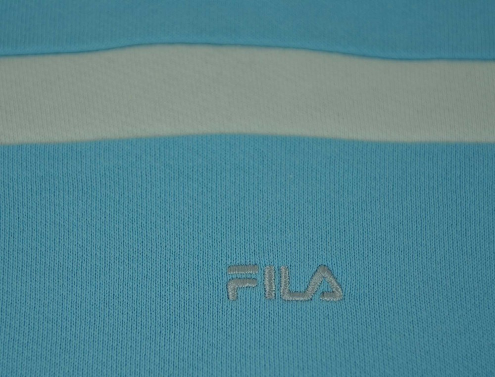 Fila Crew Neck Sweat Womens Damen Sport Fitness Sweatshirt Hellblau – Bild 2