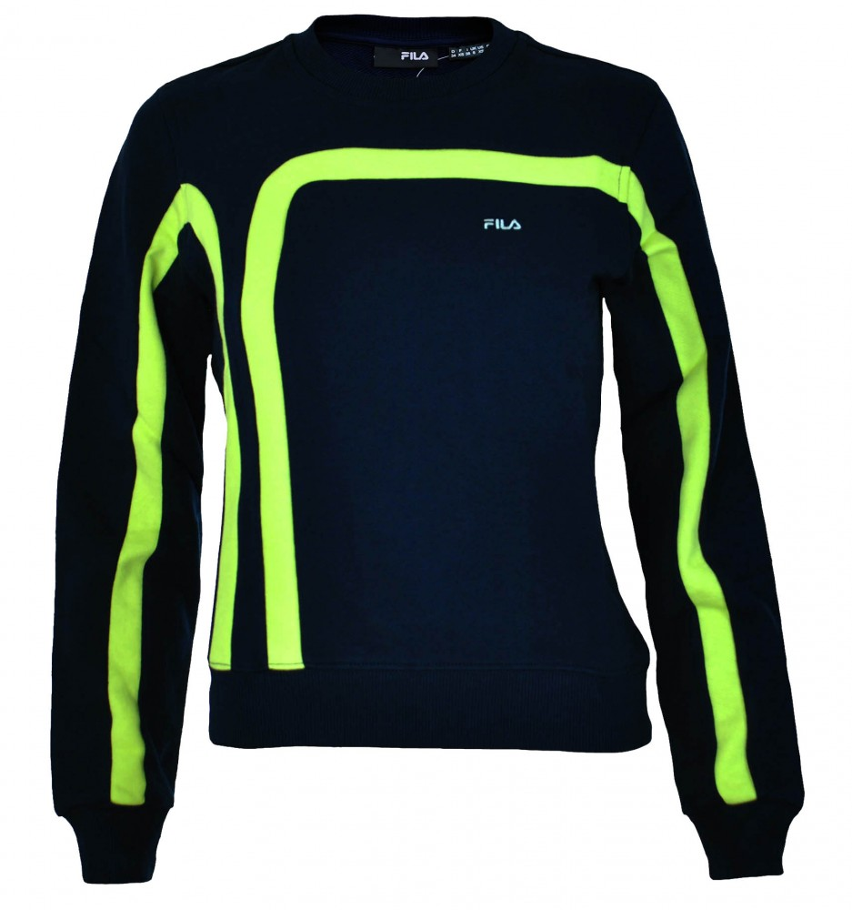 Fila Crew Neck Sweat Womens Damen Sport Fitness Sweatshirt – Bild 4