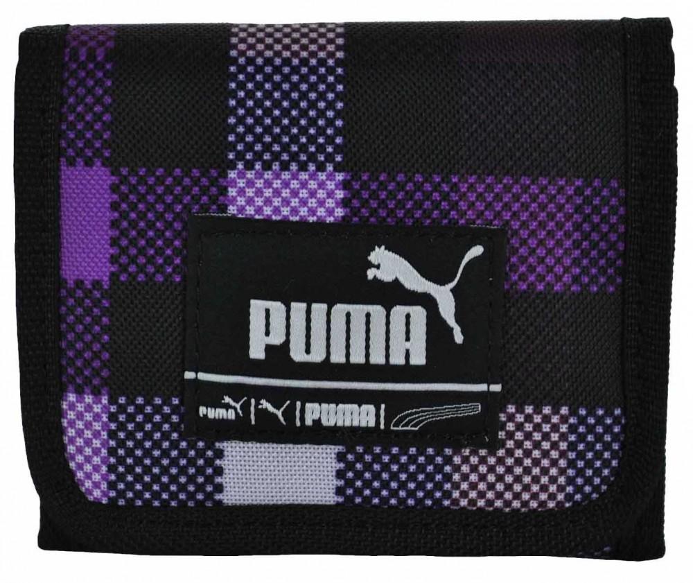 Puma Foundation Wallet Unisex Geldbeutel Portemonnaie Geldbörse Brieftasche Schwarz – Bild 1