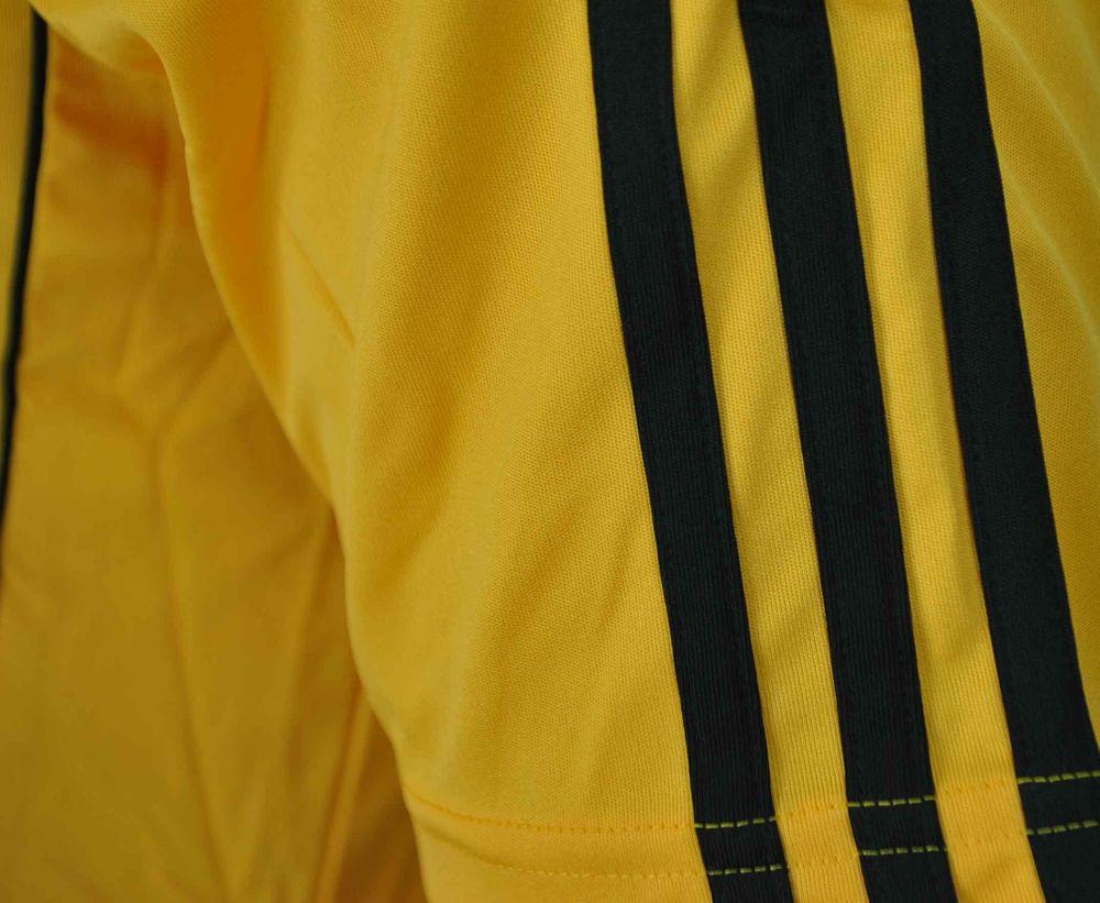 Adidas Estro 12 Jsy SS Tee Mens Herren ClimaLite Sport Fitness Shirt T-Shirt Gelb – Bild 3