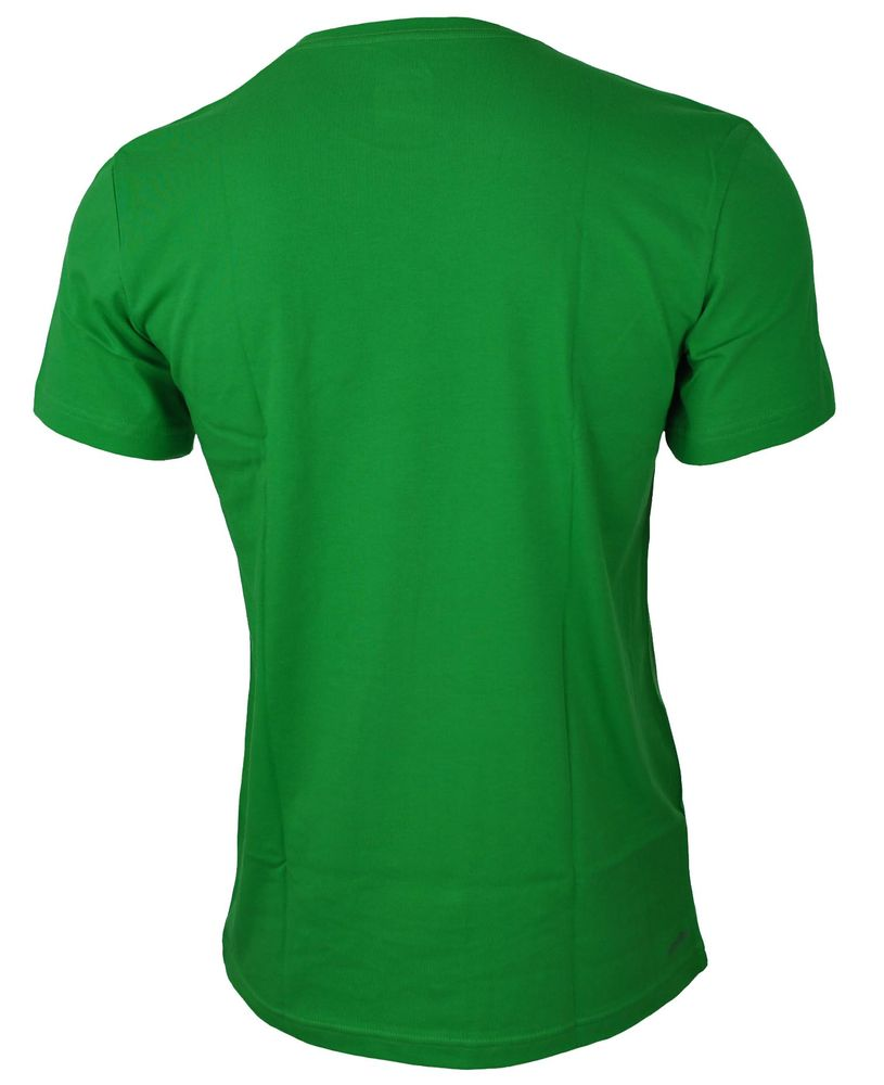 Adidas Logo Tee 1 Mens Herren Essentials Climalite Sport Shirt T-Shirt Grün – Bild 3