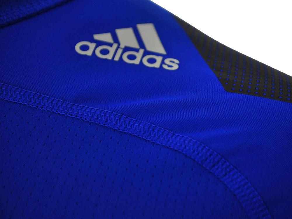 Adidas Cool LS P Techfit ClimaCool Longshirt Herren Compression Stretch Shirt Blau – Bild 2