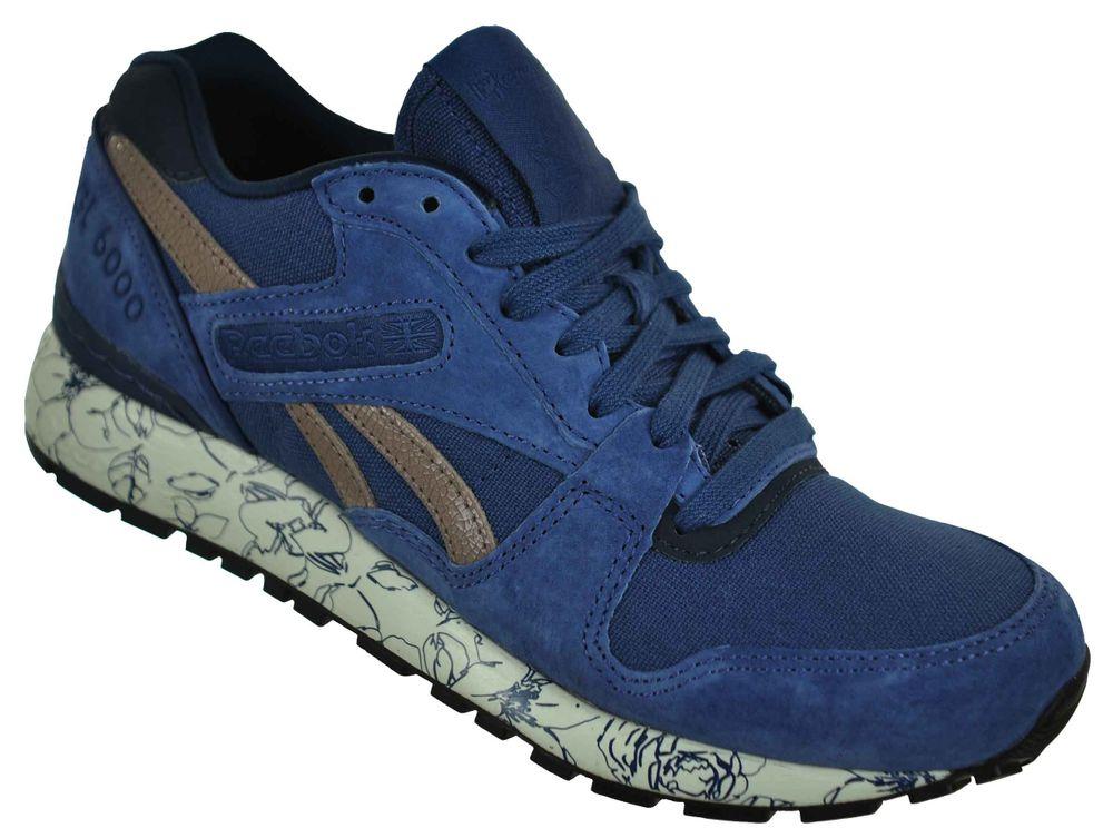 Reebok GL 6000 WRAP Sneaker Womens Damen Classic Leder Schuhe Blau – Bild 1