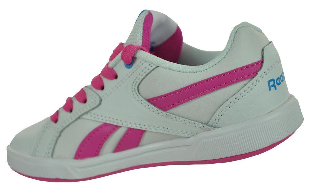 Reebok Royal Advance Kids Girls Sneaker Mädchen Sportschuhe Weiß/Pink – Bild 2