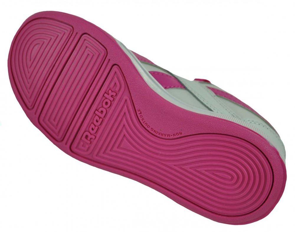 Reebok Royal Advance Kids Girls Sneaker Mädchen Sportschuhe Weiß/Pink – Bild 3