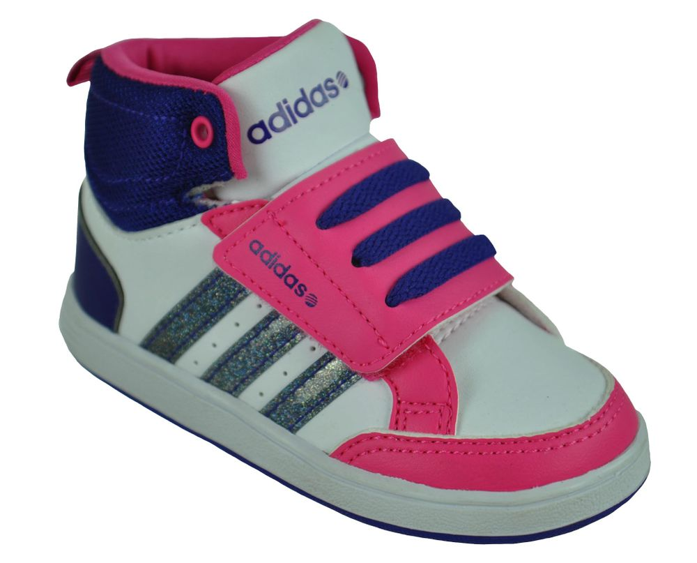 Adidas Hoops CMF MID Infants Neo Sneaker Kinder Schuhe Weiß