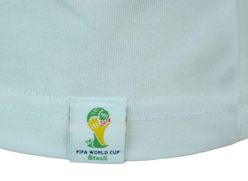 Adidas Germany Tee Mens Herren Fifa World Cup Brasil 2014 Sport Shirt T-Shirt Weiß – Bild 3