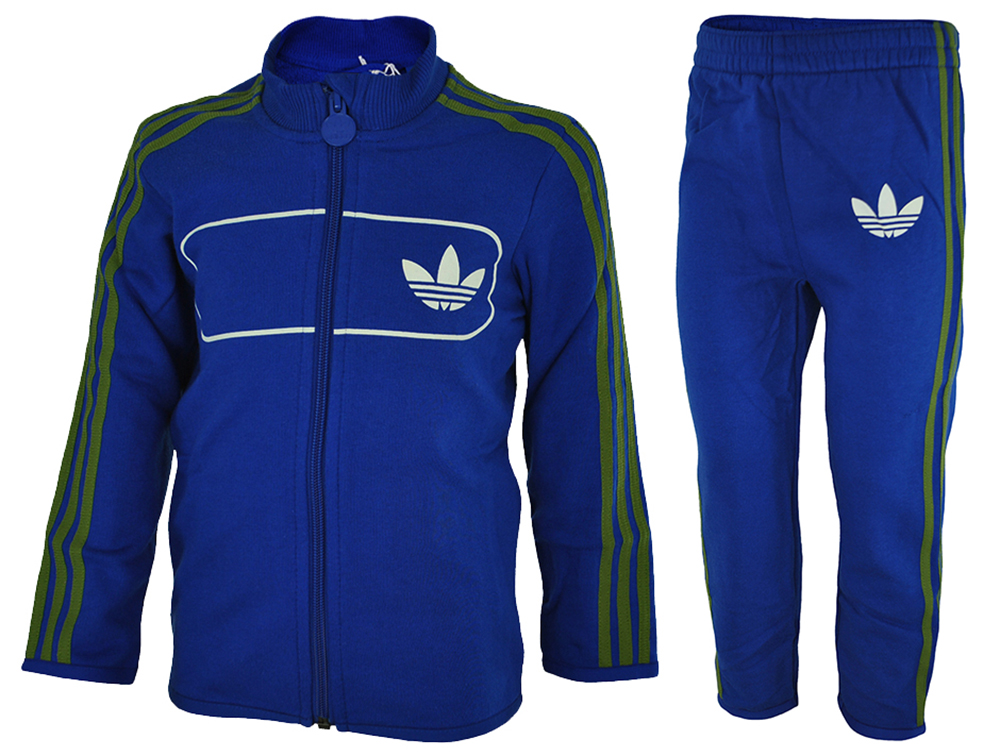 Adidas I Street Diver Baby Infants Originals Firebird Tracksuit Trainingsanzug Blau – Bild 1