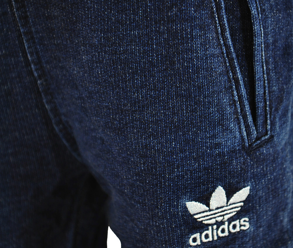 Adidas I Denim Crew Baby Infants Originals Firebird Tracksuit Trainingsanzug Navy – Bild 3