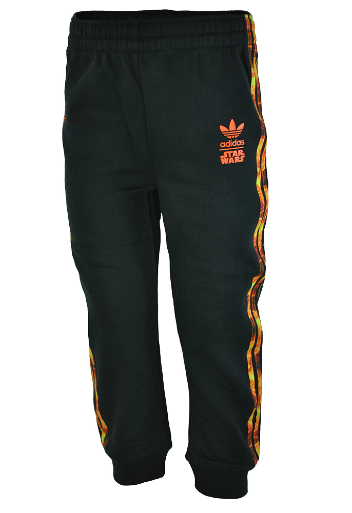 Adidas I SW HFL Flame Baby Infants Pants Originals Star Wars Firebird Hose Black