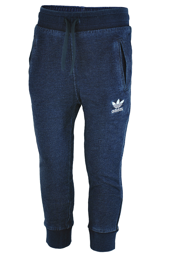 Adidas I Denim Crew Baby Infants Originals Firebird Hose Trainingshose Navy