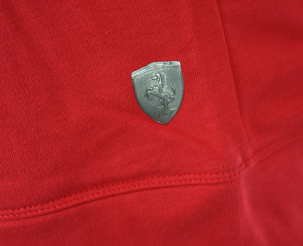 Puma Ferrari Hooded Sweat Jacket Mens Herren Kapuzenpullover Hoody Sweatjacket Rot – Bild 5