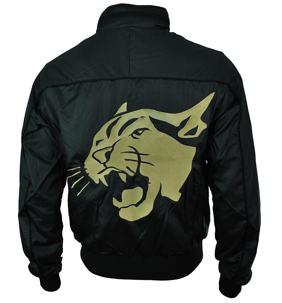 Puma Roaring Cat Jacket Mens Herren Jacke Windjacke Übergangsjacke Schwarz – Bild 5