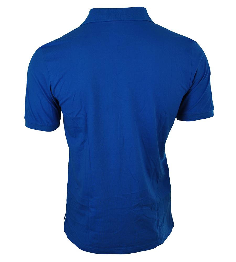 Adidas Spelto Polo Mens Herren Regular Poloshirt Shirt Blau – Bild 3