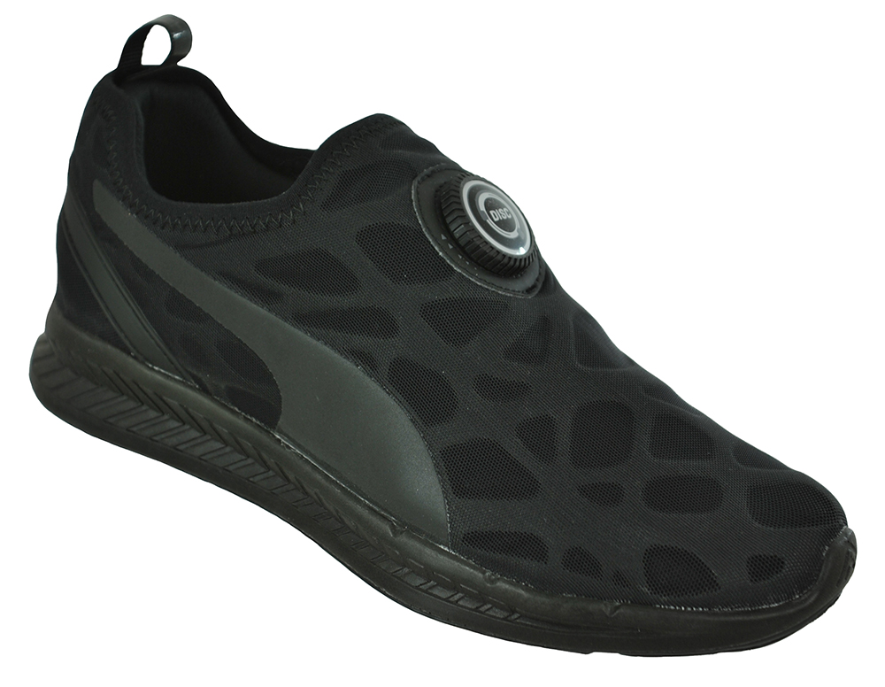 acheter en ligne f014b 0fceb Puma Disc Sleeve Ignite Foam Unisex Sneaker Sport Shoes Black