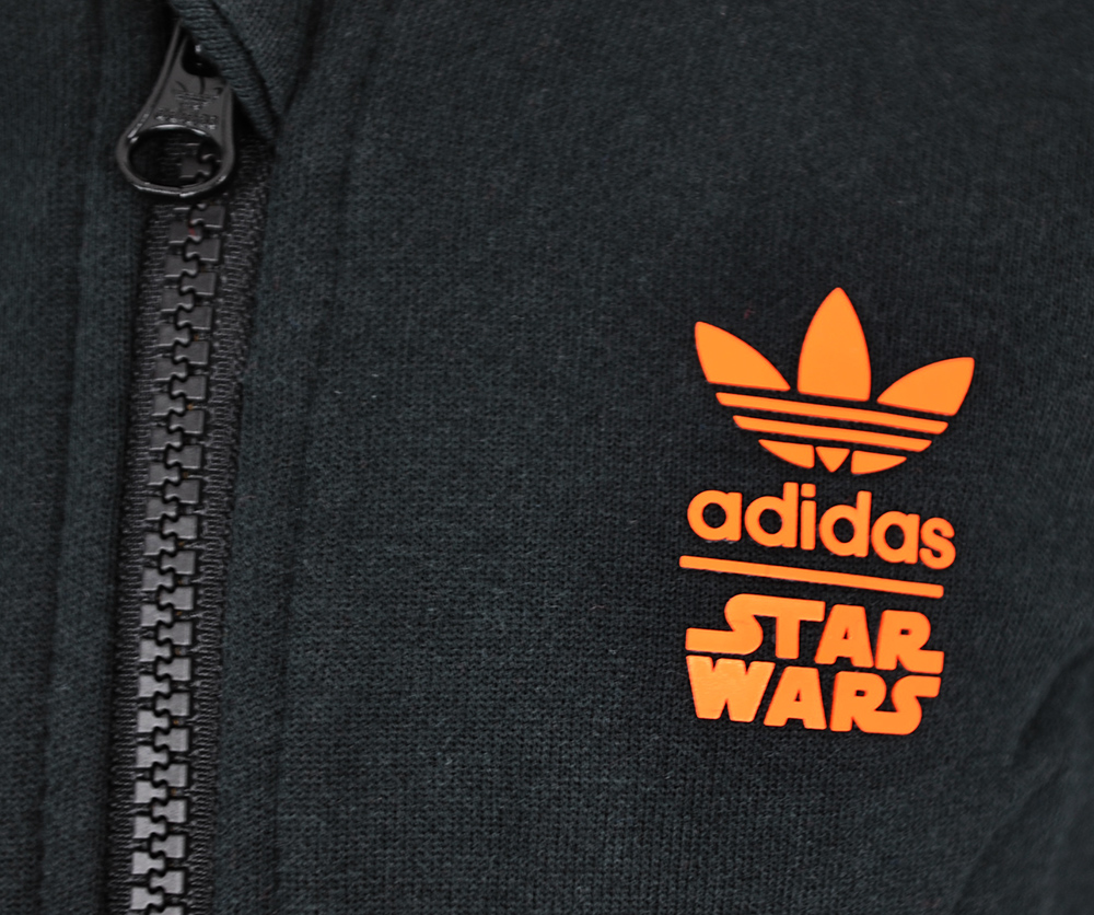 Adidas I SW HFL Flame Baby Infants Originals Star Wars Firebird Hoody Schwarz Gr. 86 – Bild 3