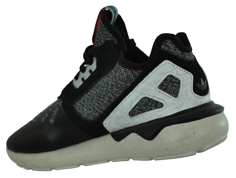 Adidas Tubular Runner Originals Trefoil Herren Sneaker Sportschuhe Schwarz – Bild 3