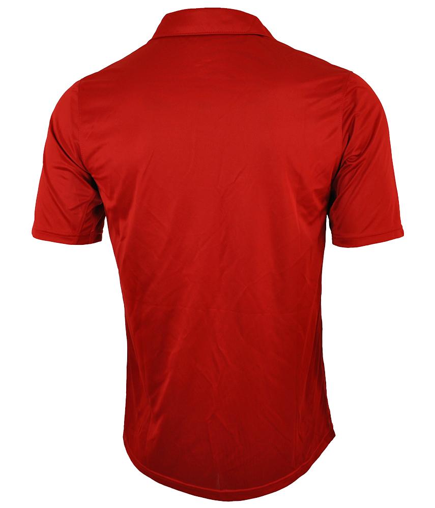 Nike Tennis Polo Shirt DRI FIT Mens Herren Poloshirt Rot – Bild 4