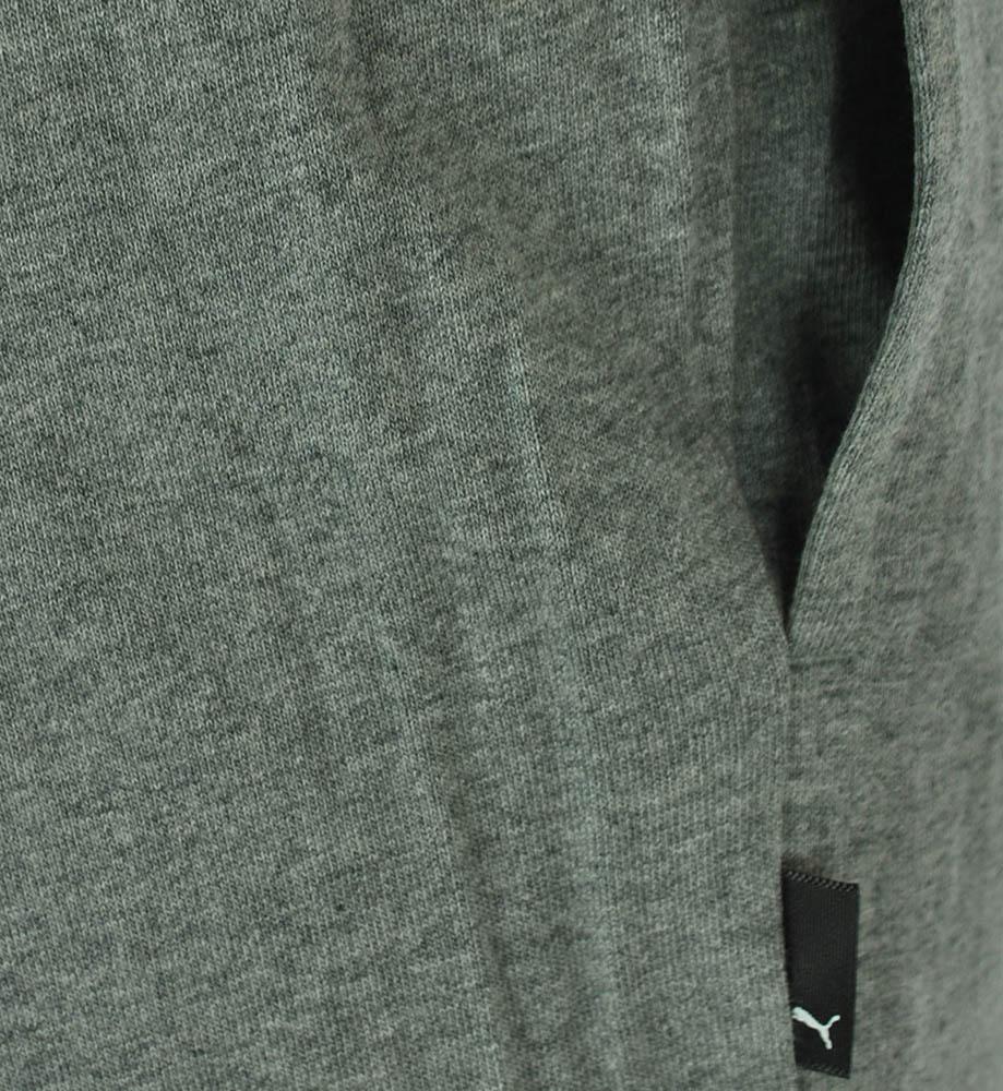 Puma ESS Jersey Long Pants open Mens Herren Hose Sporthose Trainingshose Grau – Bild 3