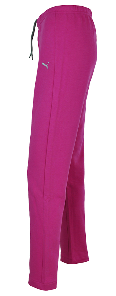 Puma Sweat Pants Kurzgröße Damen Slim Fit Hose Sporthose Sweathose Pink – Bild 3