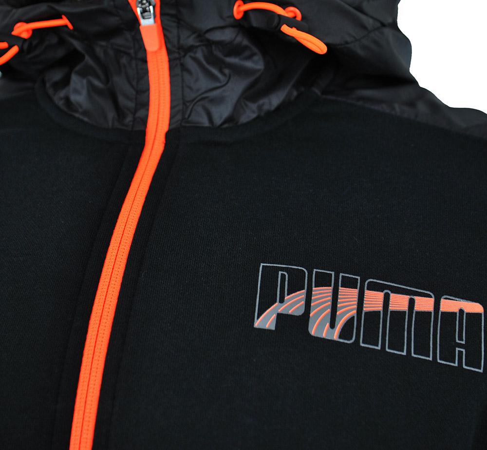 Puma Lux FZ Hoody FL Mens Sweat Jacket Regular Fit Herren Sweatjacke Schwarz – Bild 2